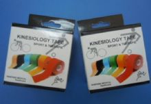 Red / Blue / Orange / Green Muti-Colored Kinesiology Tape, Sport And Elastic Adhesive Physical Therapy Tape 5cm X 5m