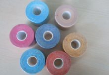 Red / Blue / Orange / Green And Wave Pattern Adhesive Physical Therapy Tape 5cm X 5m For Joint Aches, Sprains, Swelling