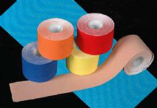 Adhesive Physical Therapy Tape, Sport And Physical Therapy Elastic Kinesiology Tape / Kinesiology Tape