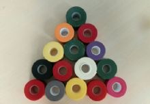 Hot Melt Adhesive Cotton / Rayon Rigid Sports Tape With Muti Colors And Highly Stretchable