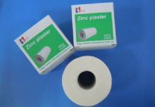 Highly Stretchable Cotton Cloth Coated Zinc Oxide Adhesive Plaster , Rigid Sports Tape For Sports Support And Protection