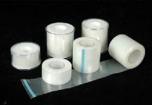 Comfortable & Safe Custom Zinc Oxide Adhesive Plaster, Non-Woven Paper / Transparent PE Adhesive Plaster