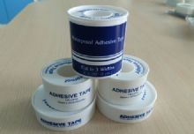 Waterproof Adhesive Tape, White or Skin, Acrylic or Hot-melt Adhesive Coated On Silk Cloth Use In Hospital & Clinics