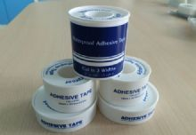 FDA, CE, ISO Certification White Hypoallergenic Cotton Waterproof Adhesive Tape, Apply To Clean, Dry Skin